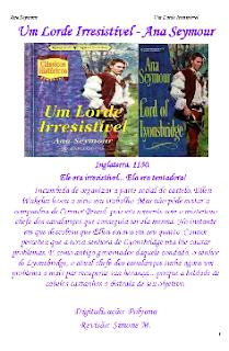Brands Of Lyonsbridge I UM LORDE IRRESISTIVEL - Ana Seymour