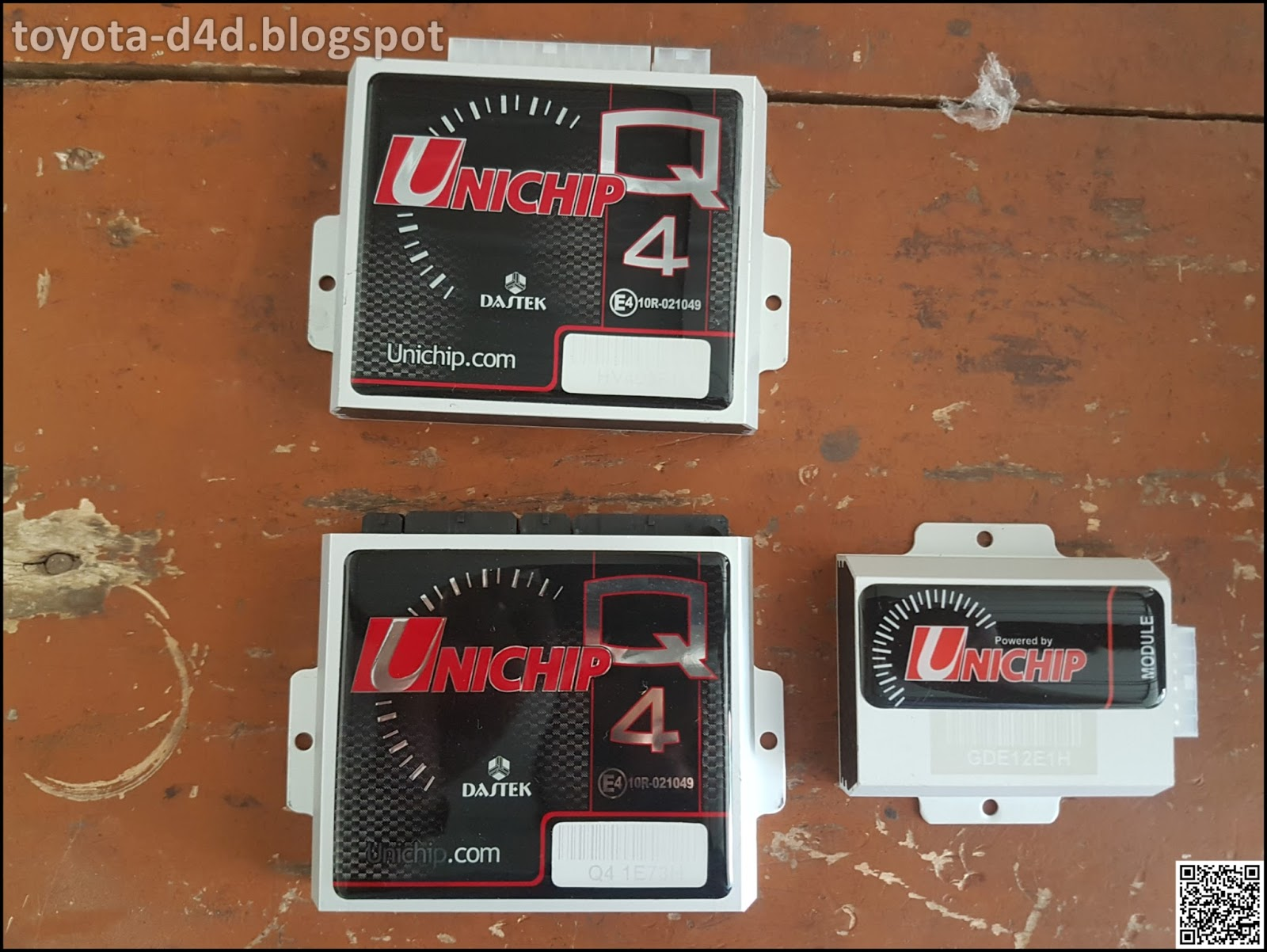 Toyota d4d unichip tuned innova crysta 1 the unichip q4 2 the gde module which is used for can bus integration 3 hv4 injector driver module it looks like another q4 and 4 the plug and asfbconference2016 Image collections