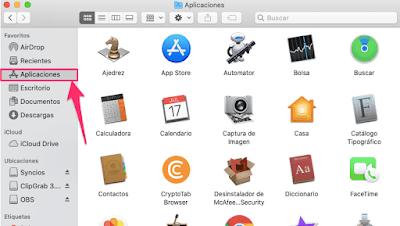 Borrar y eliminar aplicaciones descargadas en Mac
