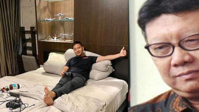 Aktor Detri Warmanto Mantu Menteri Tjahjo Kena Corona, Begini Foto-foto Kondisi Ruang Isolasi Diri