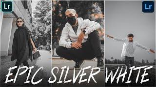 Epic Silver White Lightroom Preset Download [FREE]