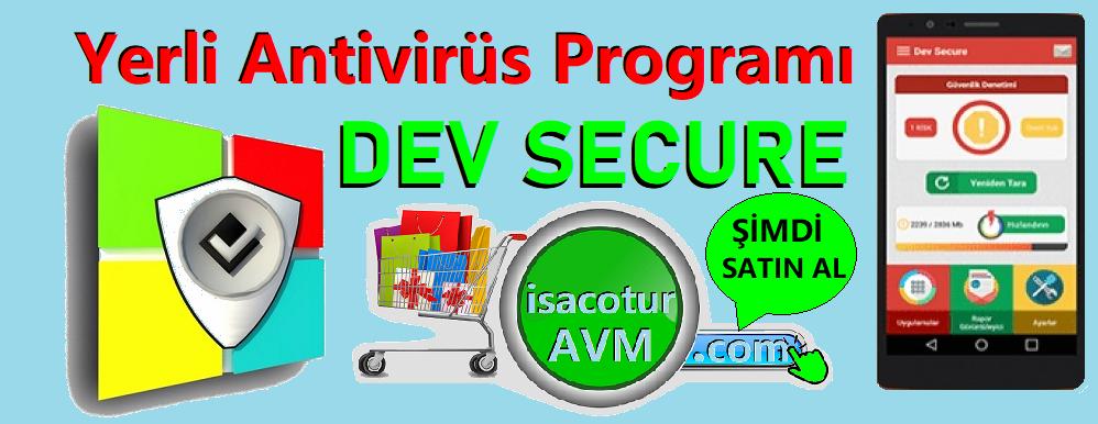 Yerli Antivirüs Programı DevSecure