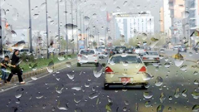 باران بارین دێ دهستپێكهن
