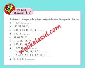 Kunci-Jawaban-Matematika-Kelas-8-Ayo-Kita-Berlatih-1.4-Halaman-22-23