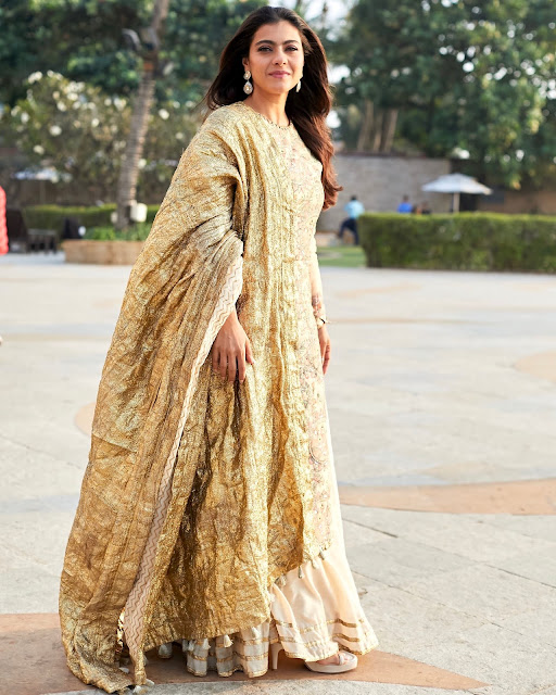 Kajol Wearing Itrh for Movie Promotions