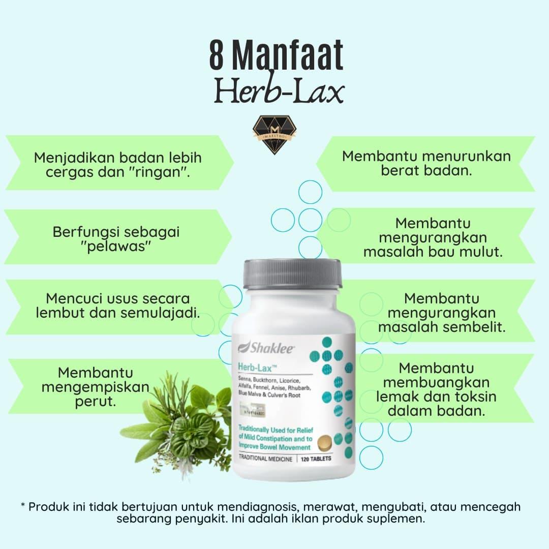 manfaat herbalax shaklee