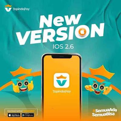 Download Aplikasi Topindopay Versi IOS / Iphone / Apple