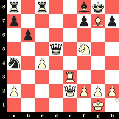 Les Blancs jouent et matent en 4 coups - Boris Spassky vs Kick Langeweg, Sochi, 1967