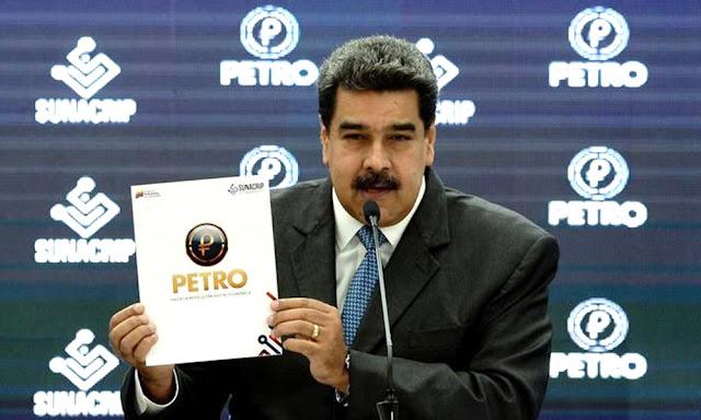 El presidente de Venezuela, Nicolás Maduro autoriza primer casino operado con petros
