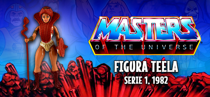 Masters del universo: Teela Mattel 1982