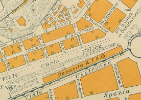 Mappa Marino Gigli Deposito ATAG