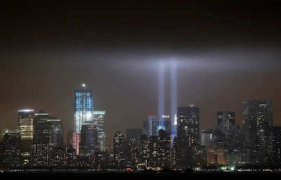 Foto del World Trade Center a 10 años del atentado
