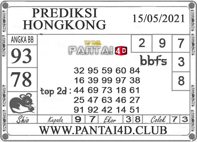 PREDIKSI TOGEL HONGKONG PANTAI4D 15 MEI 2021