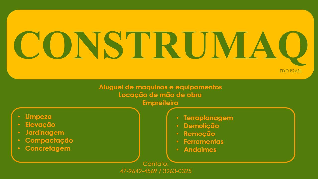 Construmaq Andaimes  Locação maquinas, equipamentos e ferramentas Balneário  Camboriú, Itajai, Camboriu, Navegantes 133a3f8463