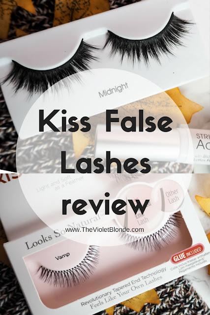 Kiss False Lashes review