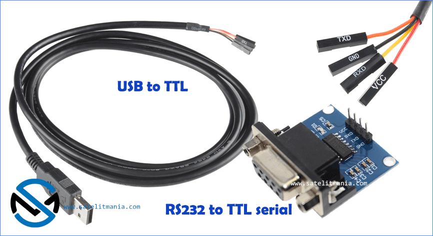 USB to TTL RS232 DB9 Board converter
