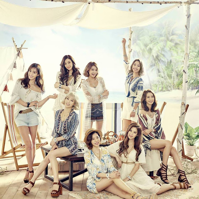 aeee005fbd More of SNSD's hot and cool pictures for Casio Watches - SNSD | OH ...