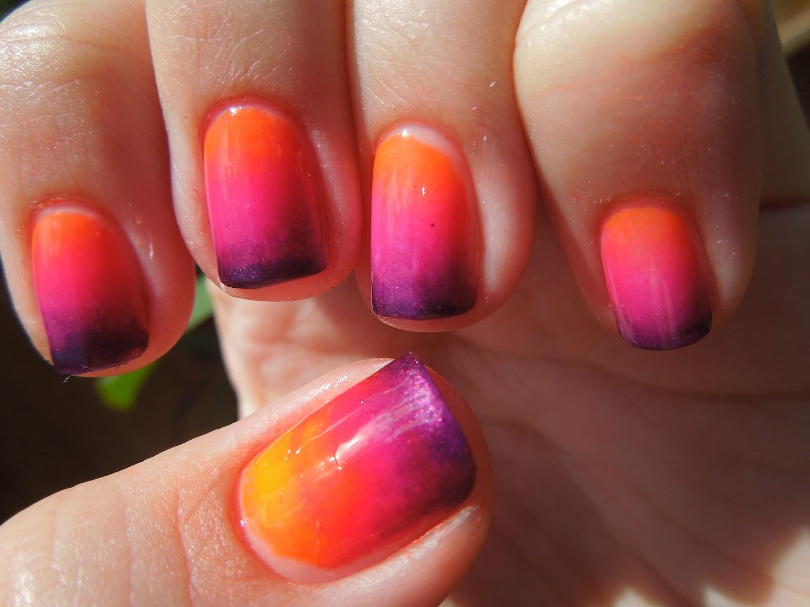 Pretty In Polish: Florida Sunset Nails