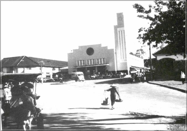 Chợ Đà Lạt năm 1955