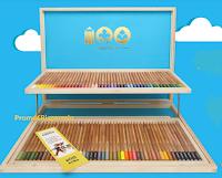 Logo Concorso #Giotto100 : vinci gratis 100 valigette in legno Giotto
