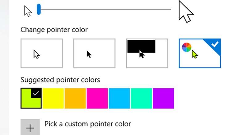 Cara Mengubah Warna Dan Ukuran Pointer Mouse Di Windows 10