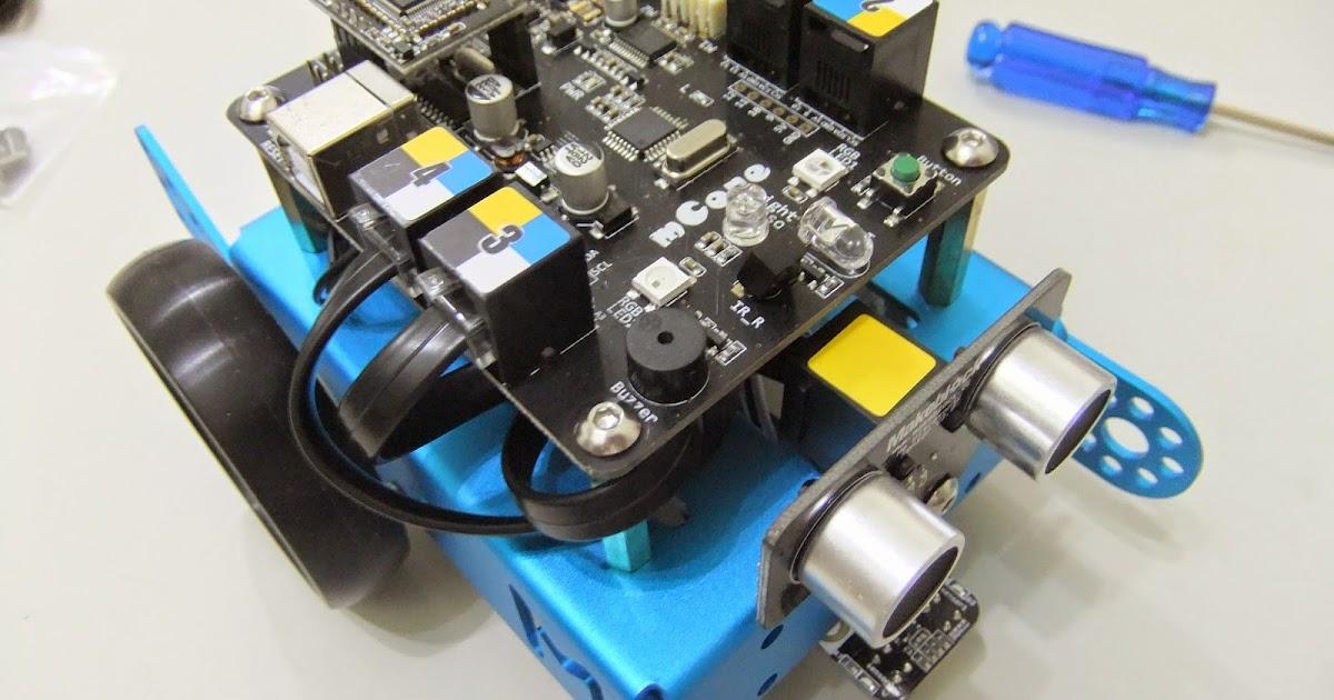 探奇 EV3 樂高機器人 LEGO BOOST mBot 教學 Touch Classroom : 『教學』Makeblock 的 mBot mBlock 開箱測試3