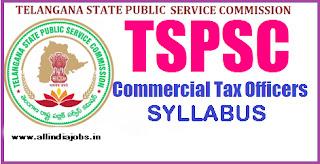 TSPSC CTO Syllabus 2017