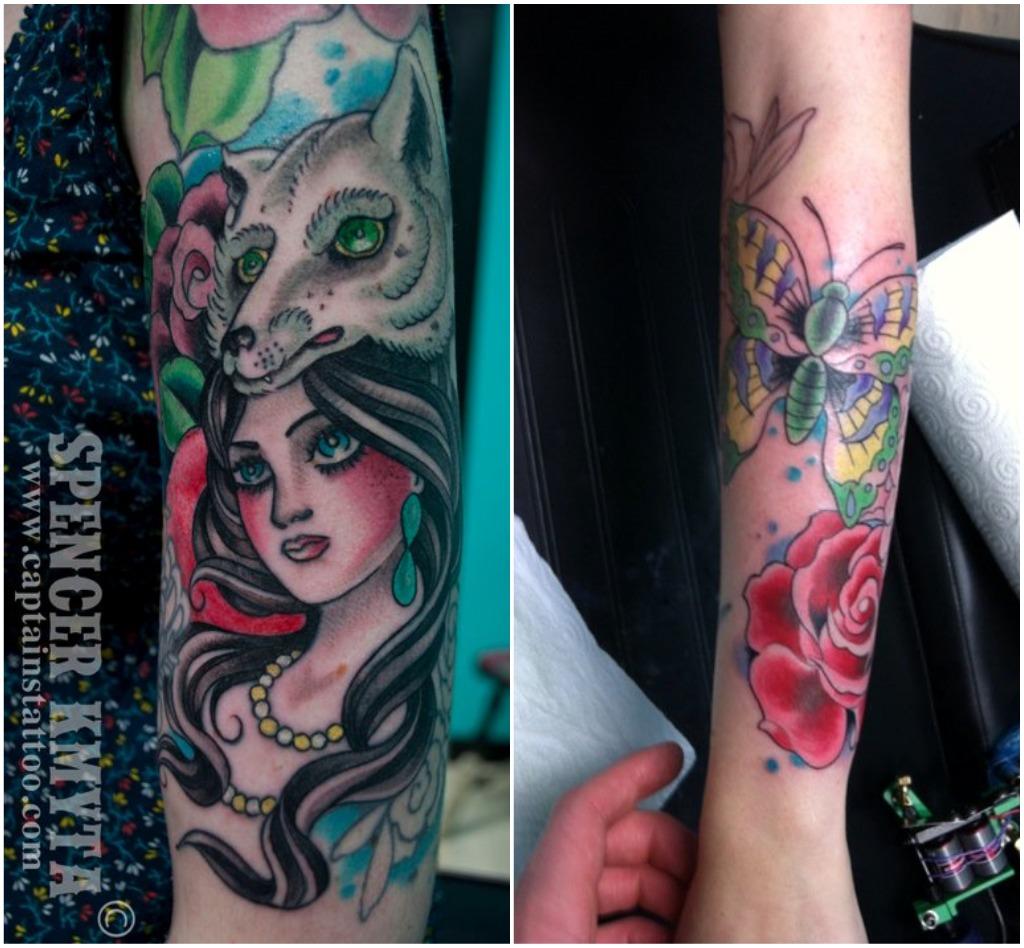 Snake Wrapped Around Thigh Tattoo: Sometimes Sweet: Tattoo Tuesday V.95