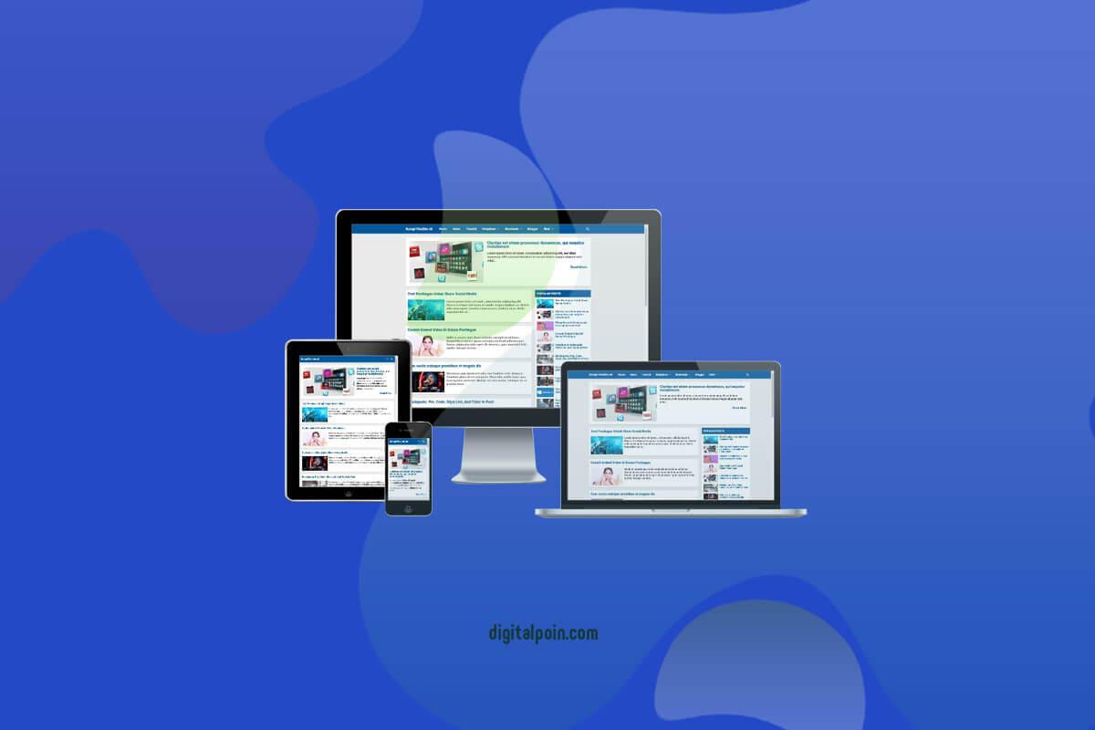 Download Gratis Template Premium Kompi Flexible Non AMP v8 Terbaru