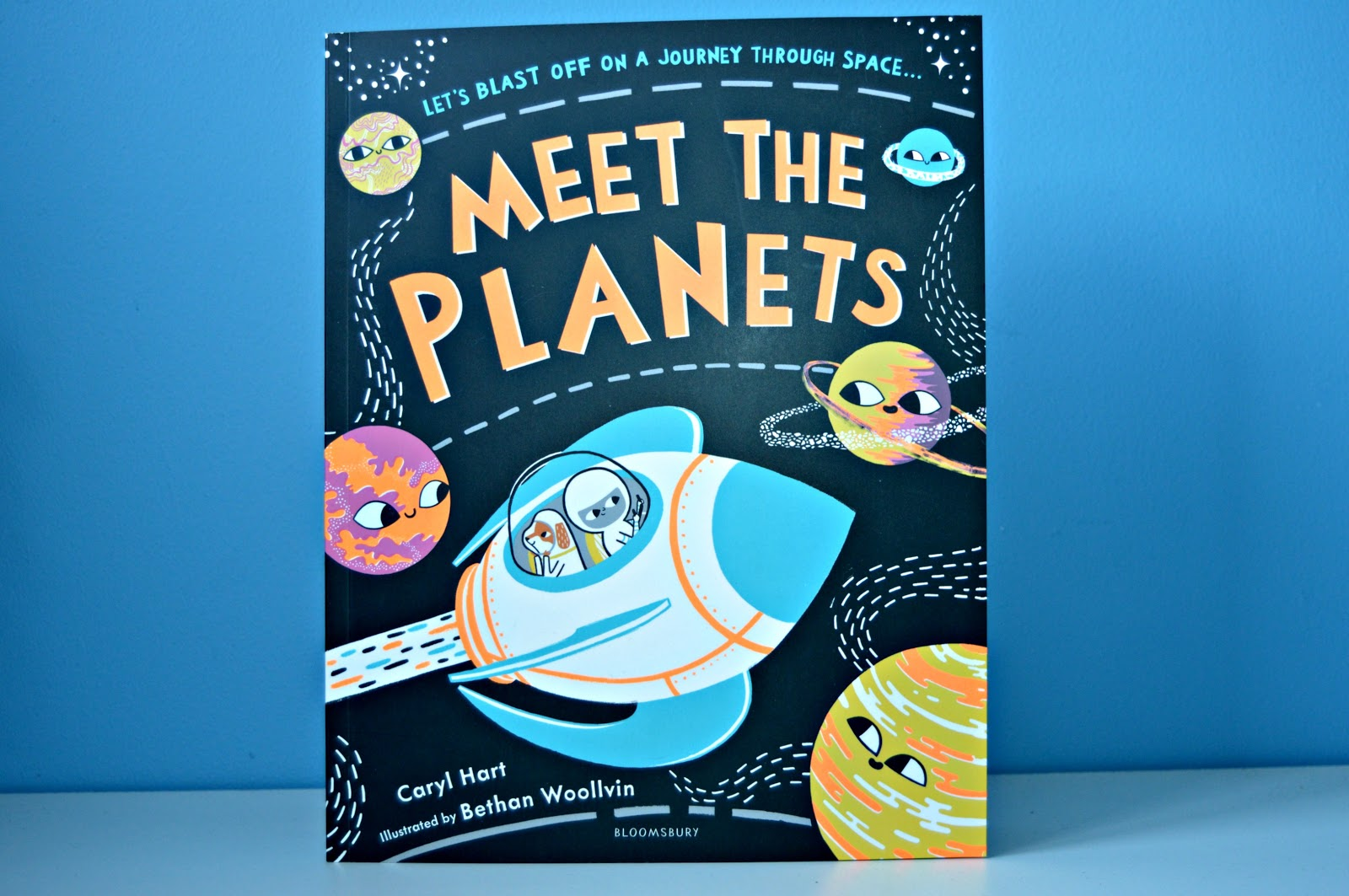 meet the planets book