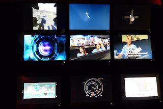 Salle d'observation Explorer Mars Palais de la découverte Paris
