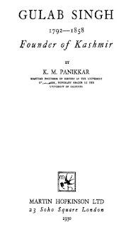 Gulab Singh Founder of Kashmir in pdf ebook Download