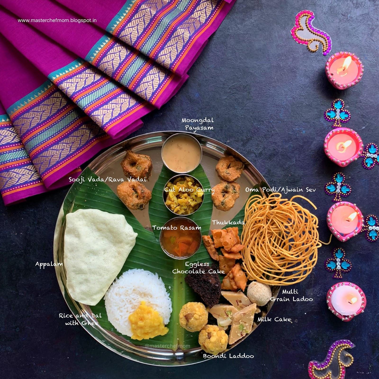 Masterchefmom Diwali 2019 Thali Indian Thali Ideas By Masterchefmom 017 Festival Thali And An Announcement