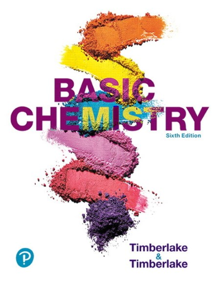 Basic Chemistry 6th Edition Timberlake in pdf