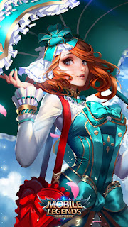 Kagura Flower Season Heroes Mage of Skins V3