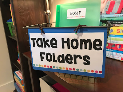 Organizing Take Home Folders