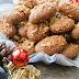 Vegan Christmas Cookies (Melomakarona)