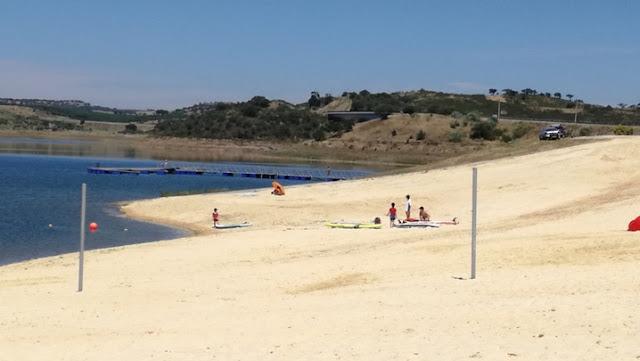 Extenso Areal da Praia da Amieira