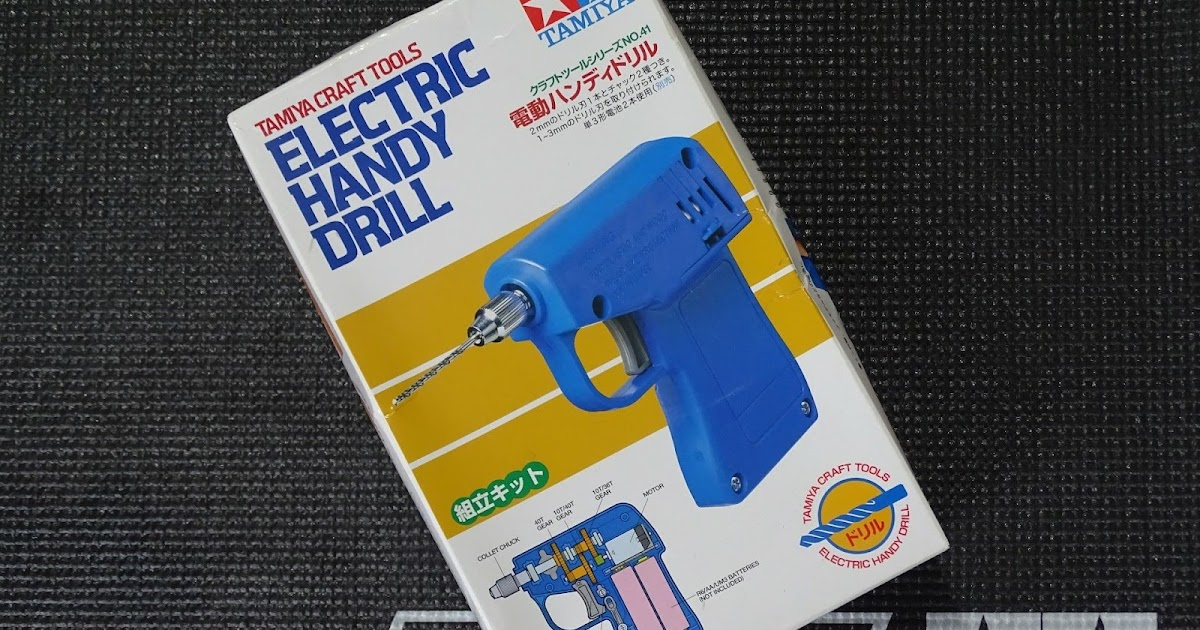 74041 Tamiya Electric Handy Drill Build and Review