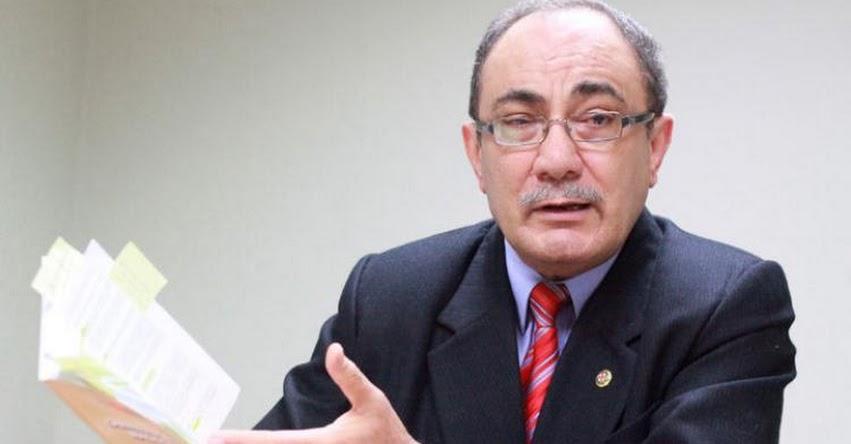 CONFIRMADO: Nuevo Ministro de Educación sería Idel Vexler Talledo