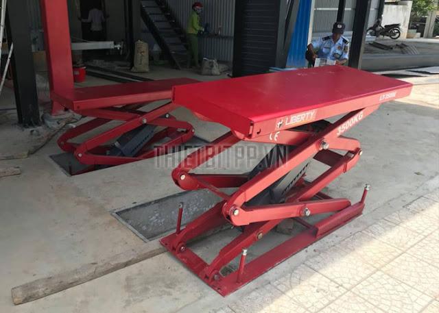 cầu nâng cắt kéo LT-3500E, cầu nâng cắt kéo LIBERTY, cầu nâng hình chữ X