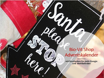 Ab heute! Adventskalender im Bio Vit Shop