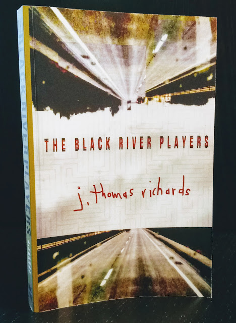 Graham Sedam, blog, thoughts, life, interests, writing, The Black River Players, book review, J. Thomas Richards, noir, detective novel, meth plague, Black River Iowa