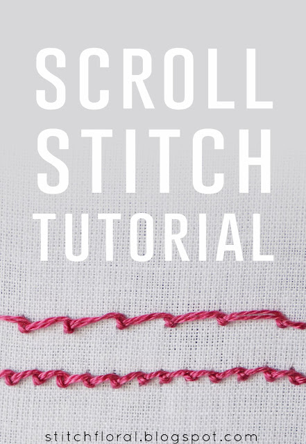 Scroll stitch tutorial