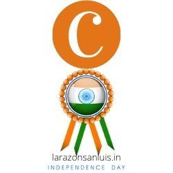 c letter tiranga image