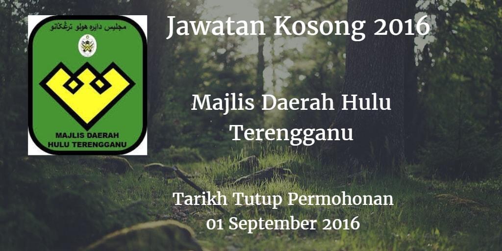 Jawatan Kosong MDHT 01 September 2016