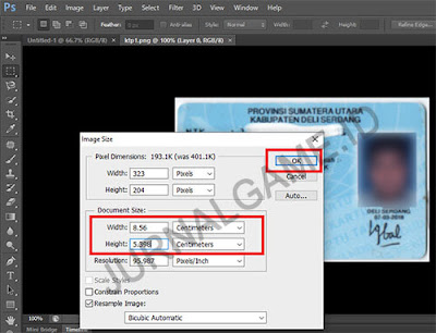 Cara Setting Ukuran Print KTP di Photoshop, Microsoft Word, & Paint