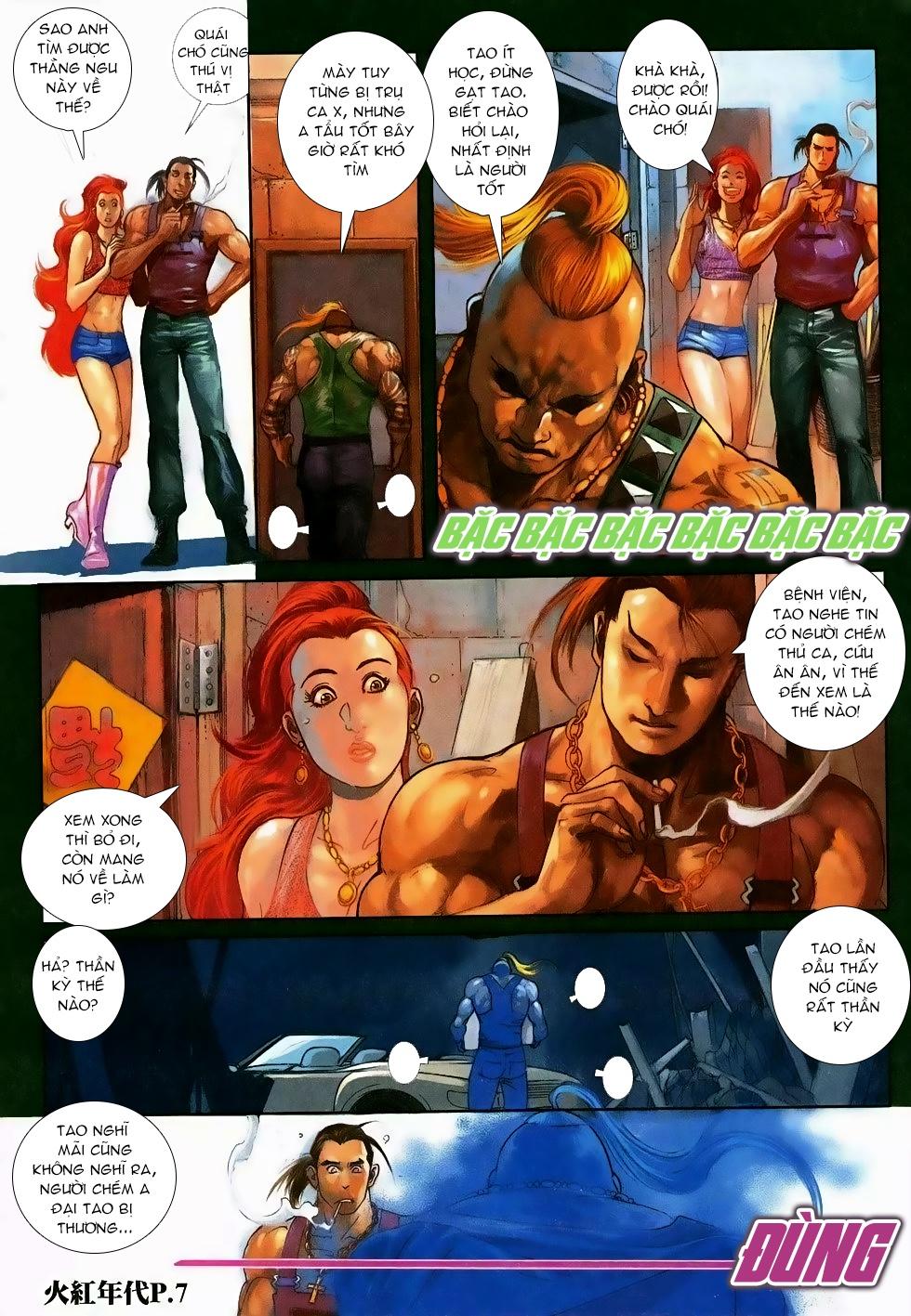 Hỏa Hồng Niên Đại Hắc Cốt Đường Chap 118 - Trang 5