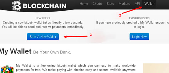 Simple steps to open a Bitcoin wallet