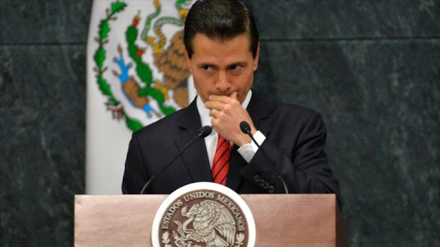 Peña Nieto se convierte en el presidente más impopular de México